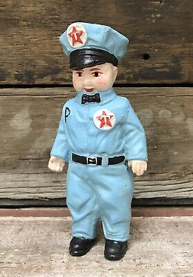 TEXACO Service Man 1949 C.H. Lee, Co. Gas Station Figurine Bank