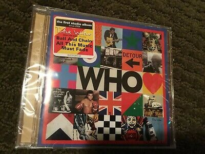 The Who - WHO (NEW CD)  2019 Studio Album Free Shipping