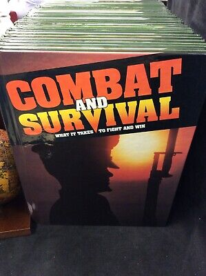 COMPLETE SET OF 28 Combat and Survival: What It Takes to Fight and Win HC 1991