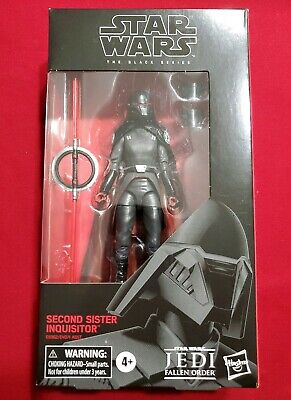● Second Sister Inquisitor ☆USPS  PRIORITY☆ Star Wars Black Series #95, New! ●