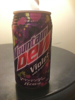 NEW Mountain Dew Violet Soda from Japan Grape Flavor Japan Limited F//S