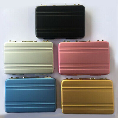 Cool Password Briefcase Business ID Credit Card Holder Case Box Wallet HOT