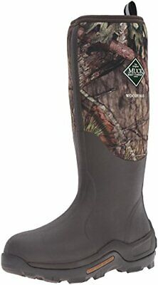 Muck Boot Woody Max Rubber Insulated Men's Hunting Boot Size 11 Mossy Oak