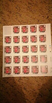 24 x 2018 Christmas Royal Mail 1st Class Stamps (NEW)