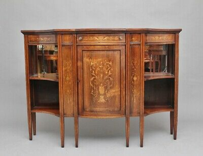 19th Century inlaid rosewood cabinet