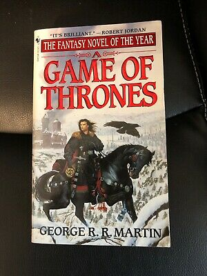 A GAME OF THRONES 1997 Bantam Paperback EUC 1st Edition First Printing Book