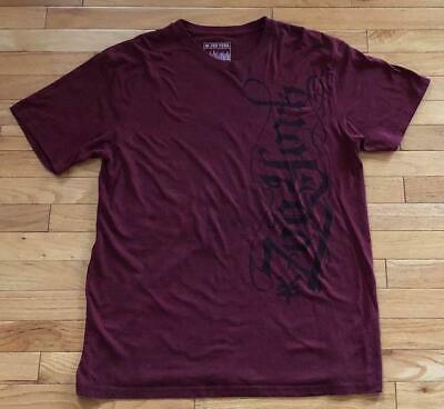 Zoo York Spell Out Logo Men's Red Graphic T-Shirt Size XL