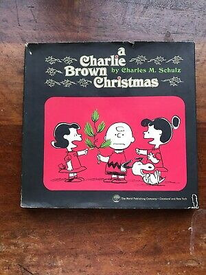1965 First Printing A CHARLIE BROWN CHRISTMAS Schultz Peanuts Gang Book Book