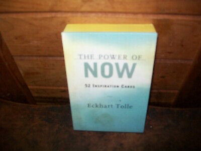 The Power of Now: 52 Inspiration Cards by Tolle, Eckhart