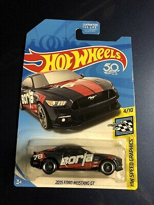 Hot Wheels 2018 Ford Mustang GT Super Treasure Hunt Car