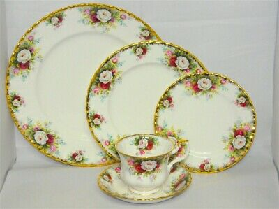 1-Royal Albert 5 Piece Place Setting Celebration ( 14 Available)