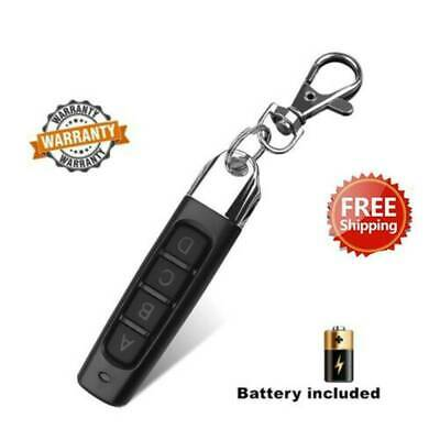 433MHZ Universal Replacement Garage Door 4 Button Electric Remote Control Key