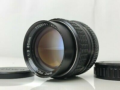 SMC Pentax-M 85mm F2 MF Telephoto Lens K mount In Very Good Condition from Japan