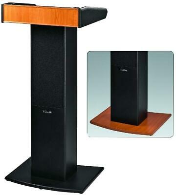 Active Lectern with integrated UHF receiver, 36W RMS - MONACOR