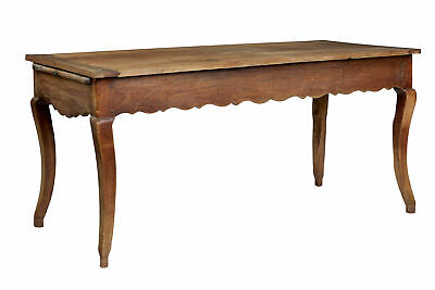 Mid 19Th Century French Rustic Chestnut Farmhouse Table