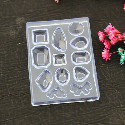 Silicone Mold DIY Resin Pendant Craft Tool for Necklace Earring Jewelry Making