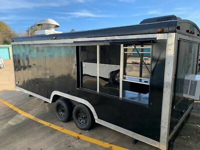Spotless and Very Spacious 24' Food Concession Trailer / Mobile Kitchen Unit for