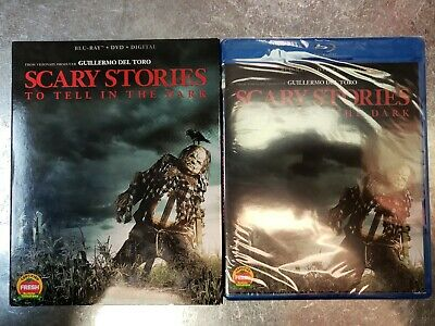 Scary Stories to Tell in the Dark (Blu-ray, DVD, digital & slipcover) NEW