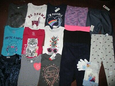 NWT Girls HUGE Size 10 FALL WINTER SCHOOL Name Brand Clothing Lot OLD NAVY NEW