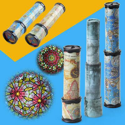 21cm Large 3 Section Kaleidoscope Children Toy Kids Educational Science Toy Gift