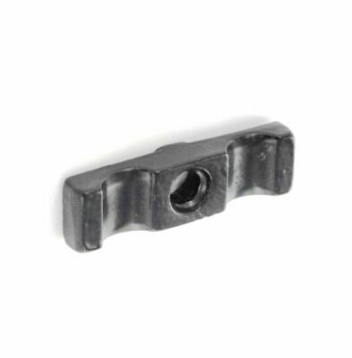 Black 48mm Turn Button Latch Shed Door Cage Cupboard Catch