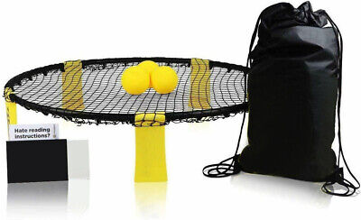 Mini Beach Volleyball Spike Ball Game Set Outdoor Team Sports Lawn Fitness M5N8