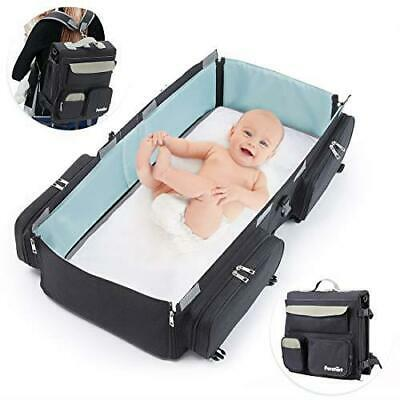 Foldable Baby Crib Travel Bag Multifunction Portable Baby Sleeping Bag 2in1 Bed