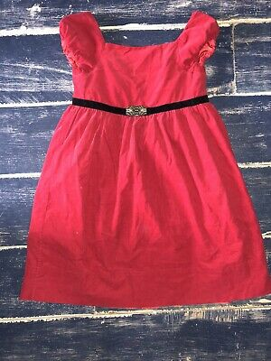 Ralph Lauren Girls Dress Age 4 Yrs Red- perfect for Christmas