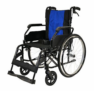 GREENCARE EASY 1 SELF PROPELLED WHEELCHAIR BLACK EDITION! (various sizes)
