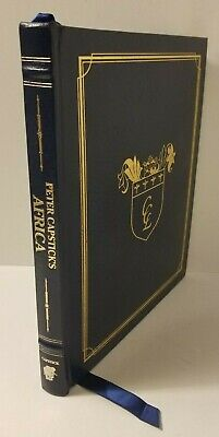 SIGNED/Limited Ed.: Peter Capstick's Africa, Leather Buckingham Mint 1st Ed