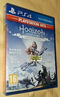 Horizon Zero Dawn Complete Edition Playstation 4 Hits PS4 NEW SEALED Free p&p