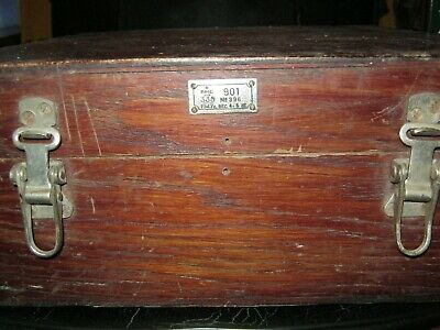 Wooden box for russian Sextant 1947 year