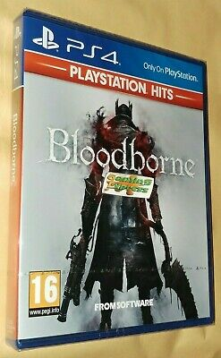 Bloodborne Playstation 4 HITS PS4 NEW SEALED FREE UK Delivery UK SELLER