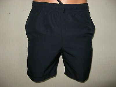 Worn Once Boys Navy Blue Lacoste Beach Swim Leisure Pool Shorts Age 12-13-14