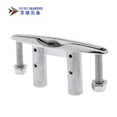 2pcs Amarine-made Boat 316 Stainless Steel Flush Mount Pull Up Cleat 6-1//2/'/'-ESA