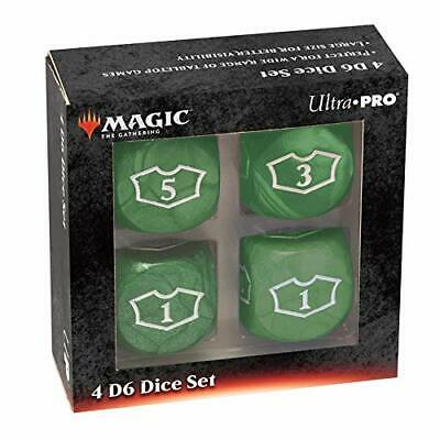 Magic: The Gathering Deluxe 22mm Green Loyalty Dice Set