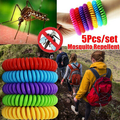 Ultrasonic Anti Mosquito Pest Insect Bug Repeller Repellent Bracelet Wrist S2G9