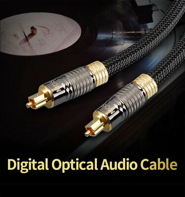 Digital Optical Audio Cable Copper Fiber Dolby DTS Sound 5.1 7.1 for Amplifier