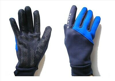 Football Outfield/Field Player Thermal Fleece Lined Grip Gloves Junior 12-14 yrs