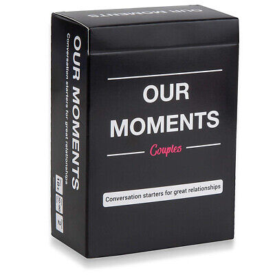 Our Moments Couples: 100 Thought Provoking Conversation Starters for Great-Fun