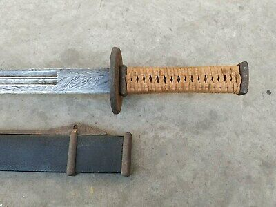 """Collectable Chinese """"Dao"""" Sword Sharp old Blade Rare"""