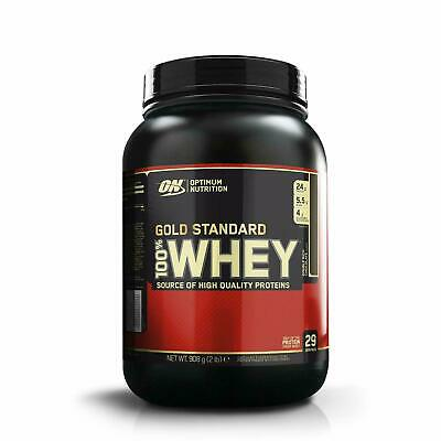 ON Optimum Nutrition 100% Gold Standard Whey Protein Powder 908g in D-Chocolate