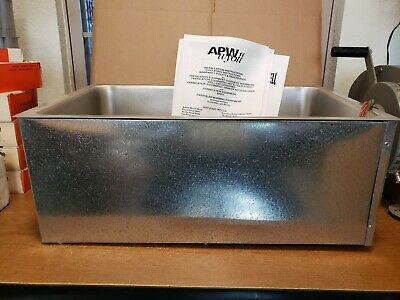 NEW Genuine APW Wyott BM-80D Electric Built-In Hot Food Well Unit with Drain