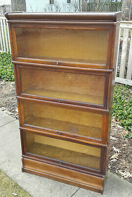 Antique Macey Barrister Lawyers Bookcase 4 Stack LOCAL PICKUP