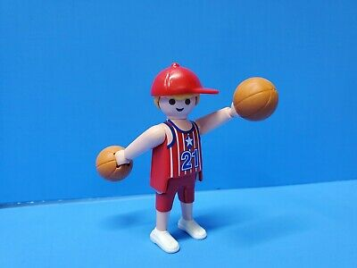 Playmobil 5196 Sports Special 2 Tennis Players Klicky Figure NEW IN BOX 102
