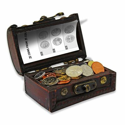 Treasure Chest of World Coins: 50 Coins from 50 Countries Uncirculated