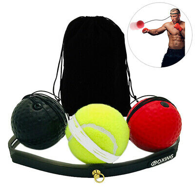 Reflex Ball,Boxing Fight Ball Reflex for Improving Speed Reactions Boxing EA5H9