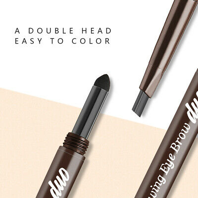 Double Head  Eyebrow Pencil Long Lasting Waterproof Eyebrow Pencil Eyeliner OL