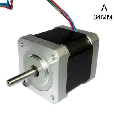 34/40/48mm 1.8Degree NEMA17 2Phase Stepper Motor For 3D Robot Tool CNC Prin F8I1