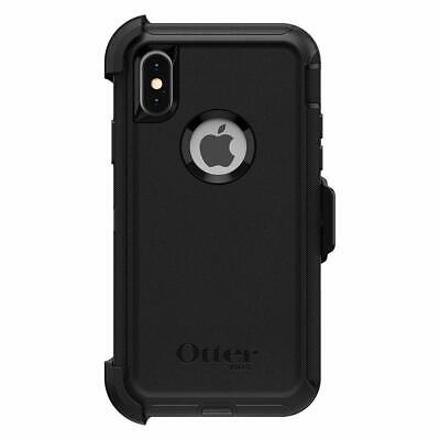 Otterbox DEFENDER SERIES Case & Holster for iPhone X / XS (ONLY) - Black